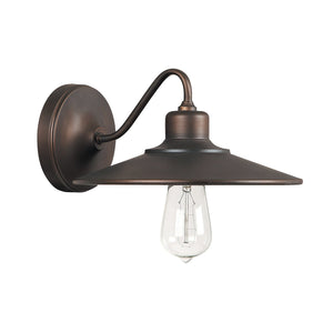 Capital Lighting One Light Sconce 4191BB Coastal Lighting