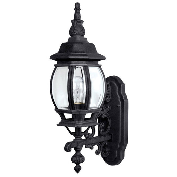 Capital Lighting One Light Wall Mount Outdoor Lantern 9867BK Coastal Lighting