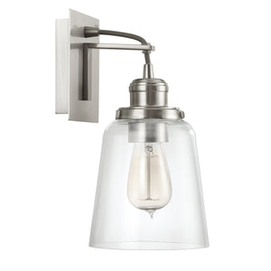 Capital Lighting One Light Wall Sconce 3711BN-135 Coastal Lighting