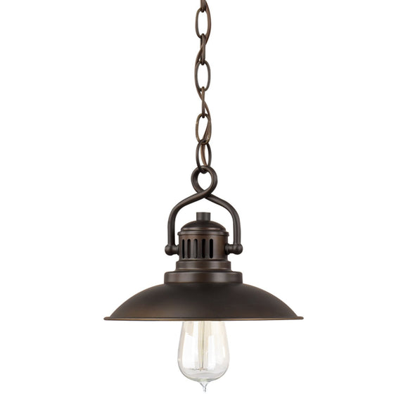 Capital Lighting ONeal One Light Mini-Pendant 3797BB Coastal Lighting