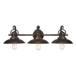 Capital Lighting ONeal Three Light Vanity 3793BB Coastal Lighting