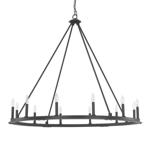 Capital Lighting Pearson 12 Light Chandelier 4912BI-000 Coastal Lighting
