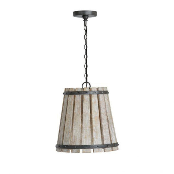 Capital Lighting Remi 1 Light Pendant 340411WN Coastal Lighting