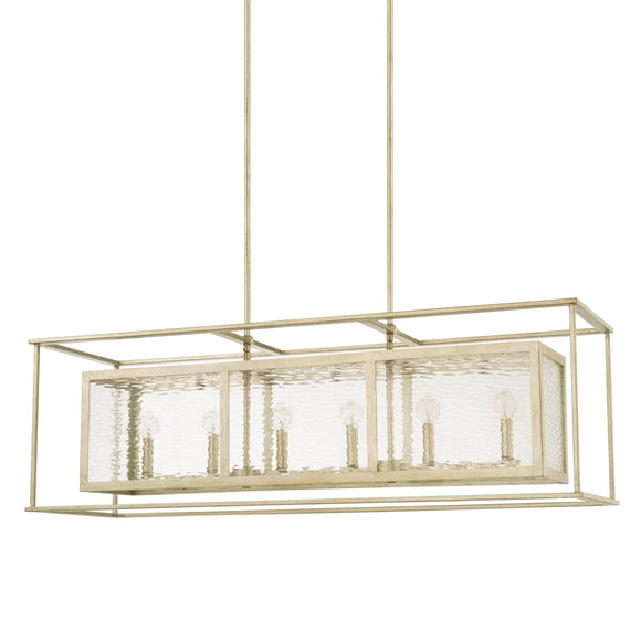 Capital Lighting Six Light Island Chandelier 828361WG Coastal Lighting
