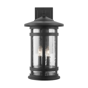 Capital Lighting Three Light Outdoor Wall Lantern 935531BK Coastal Lighting