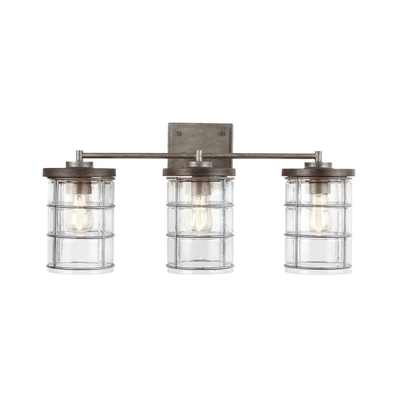 Capital Lighting Three Light Vanity 129431UG-439 Coastal Lighting