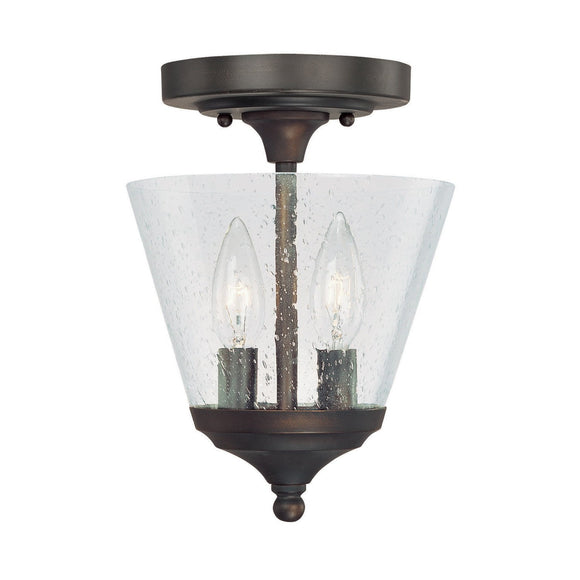 Capital Lighting Two Light Foyer Fixture 4032BB-236 Coastal Lighting