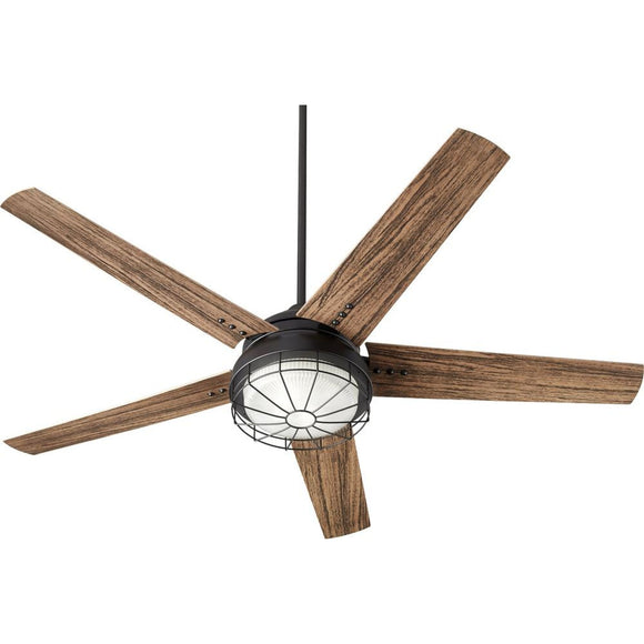 Quorum Westland 60 Patio Fan 16605-69 Noir Coastal Lighting