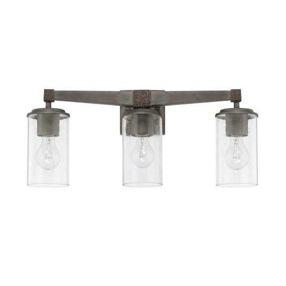 Capital Lighting Zac Three Light Vanity Fixture 125931UG-435 Coastal Lighting