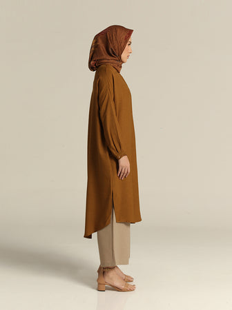 ALTHA TUNIC DARK MUSTARD