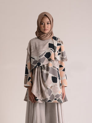 ALIA TOP PEBBLE PEACH