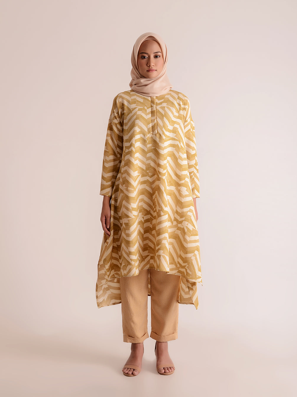 ARANKA TUNIC BUTTERSCOTCH