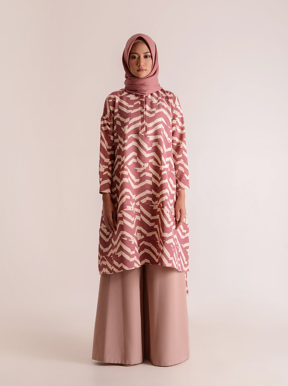 ARANKA TUNIC TURKISH ROSE