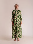 DALMA DRESS BASIL LEAF