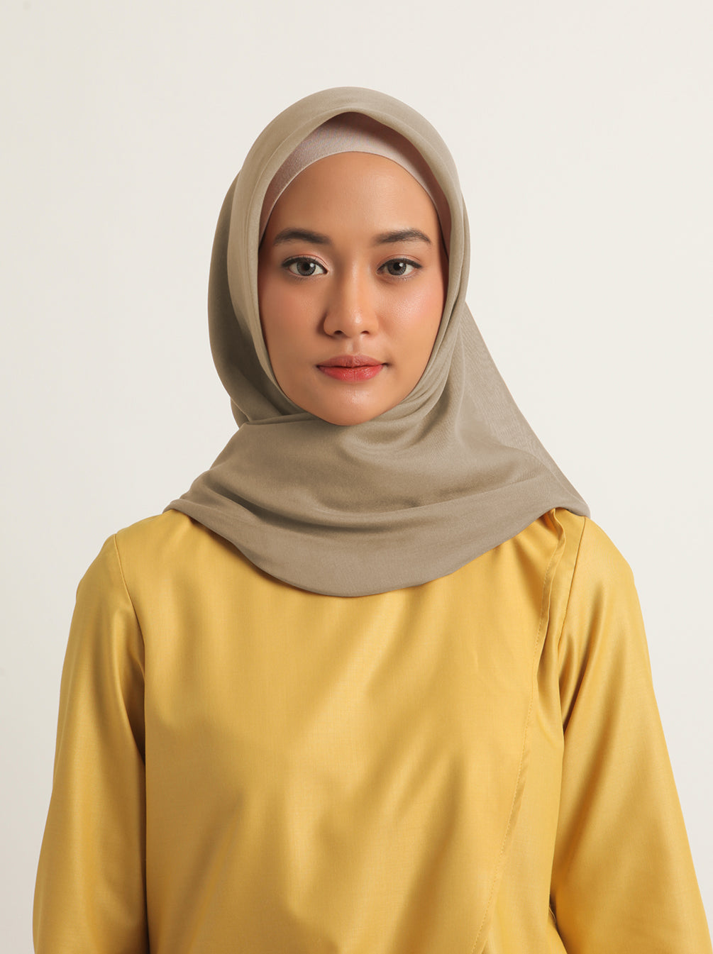 VOAL SCARF PLAIN FIR