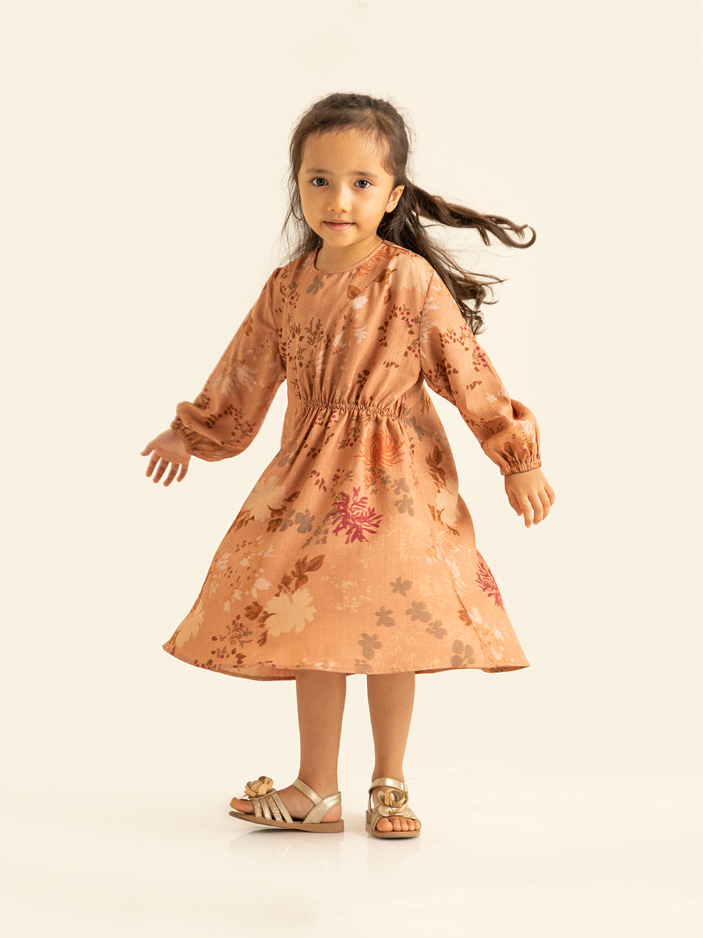 EIKKO TUNIC KIDS ASH ROSE