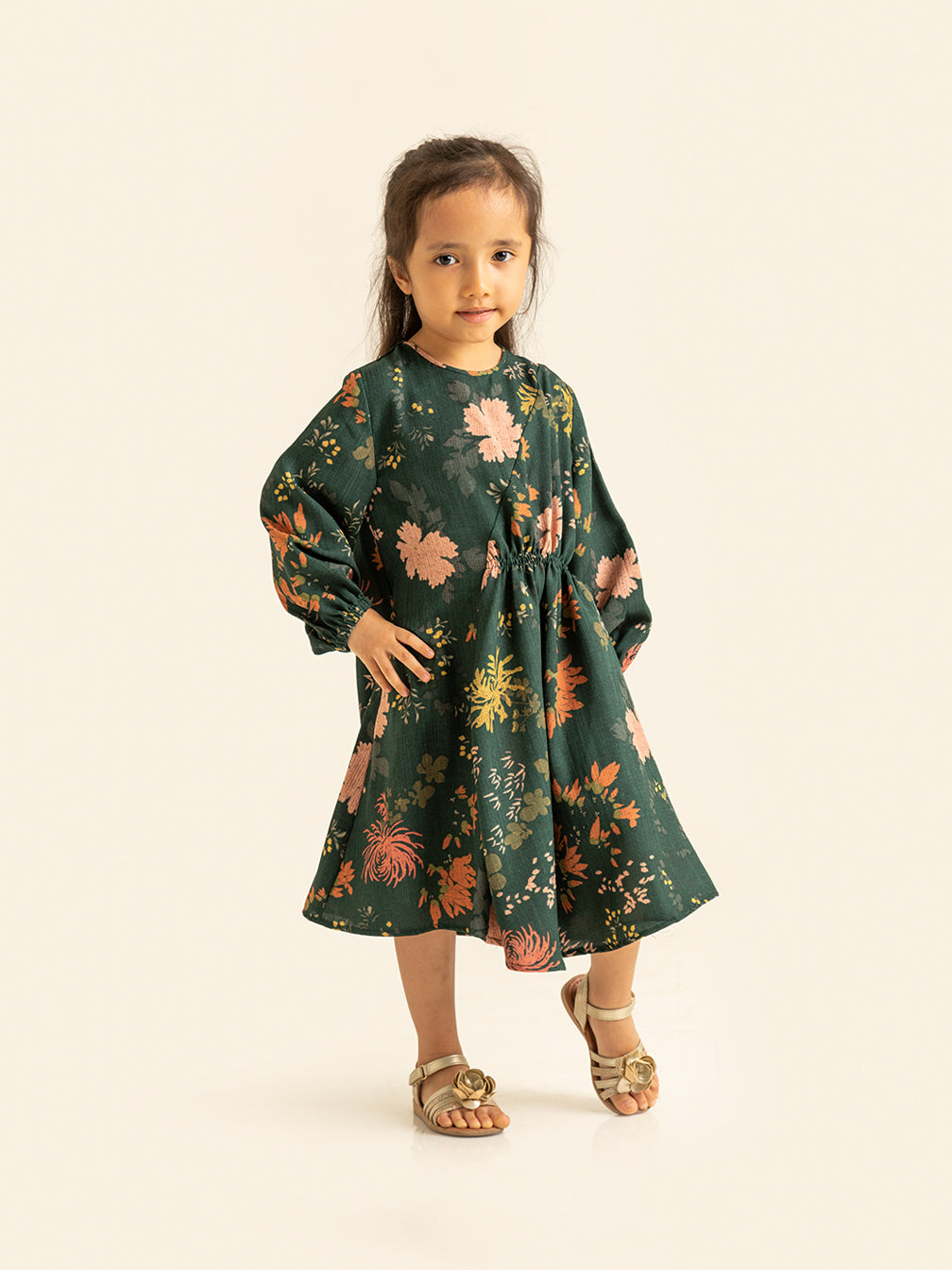 EIKKO TUNIC KIDS EMERALD