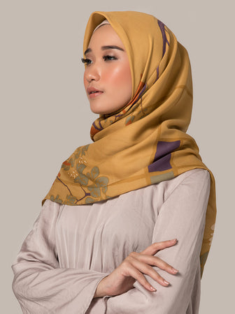 JANA SCARF BUTTERMILK
