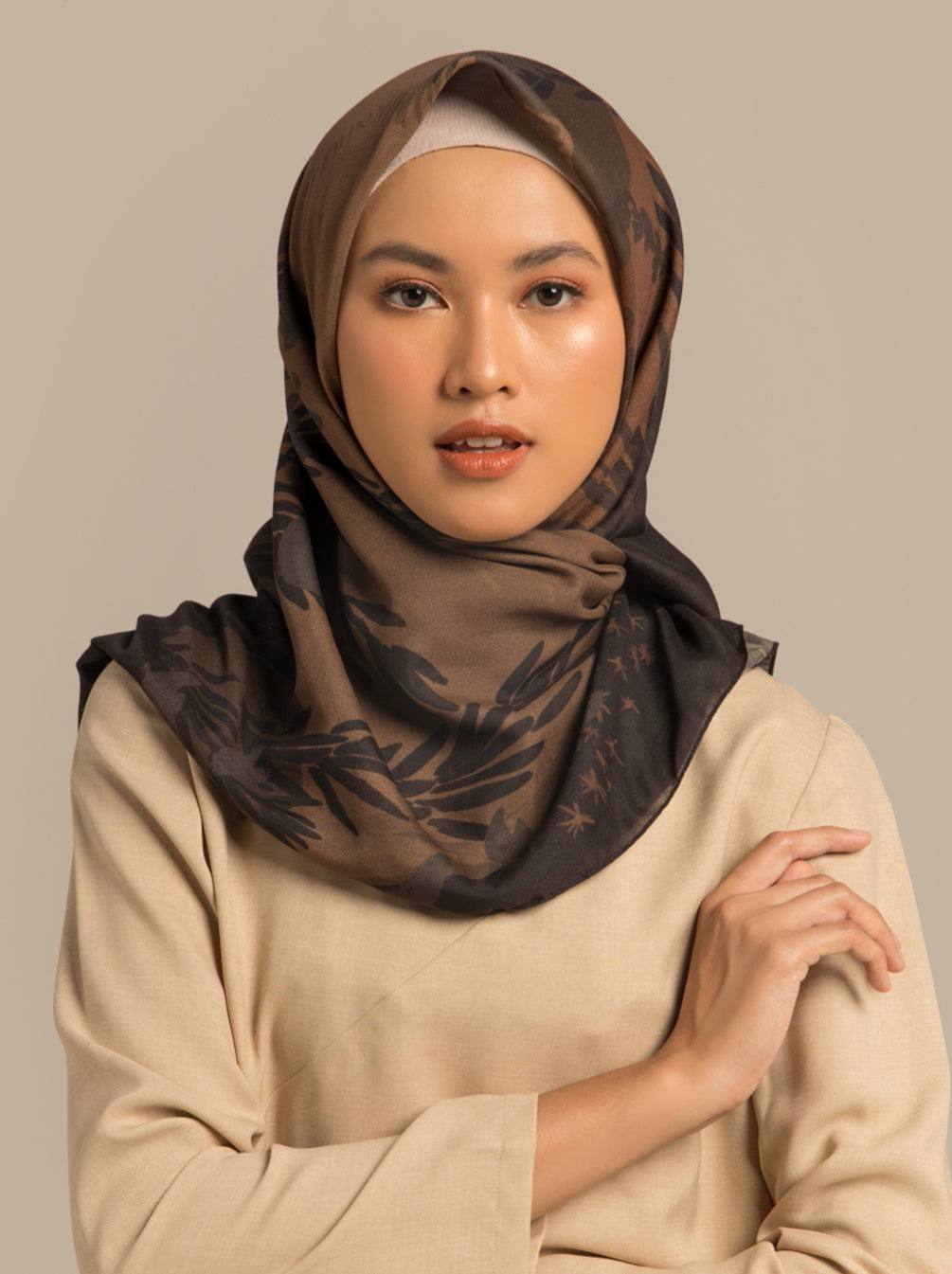 KAMARA SCARF HONEY