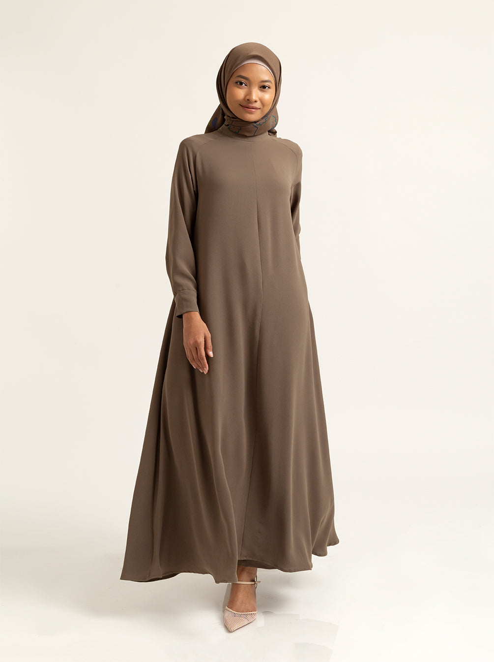 ABENA DRESS PLAIN CHIVE