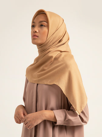 AIRY VOAL SCARF PLAIN MAPPLE