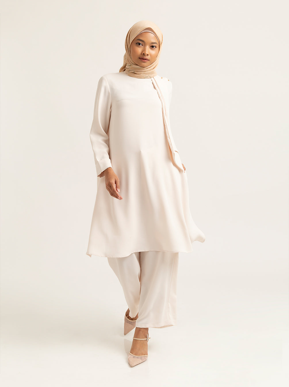 CIELLE TUNIC PLAIN LUCENT WHITE