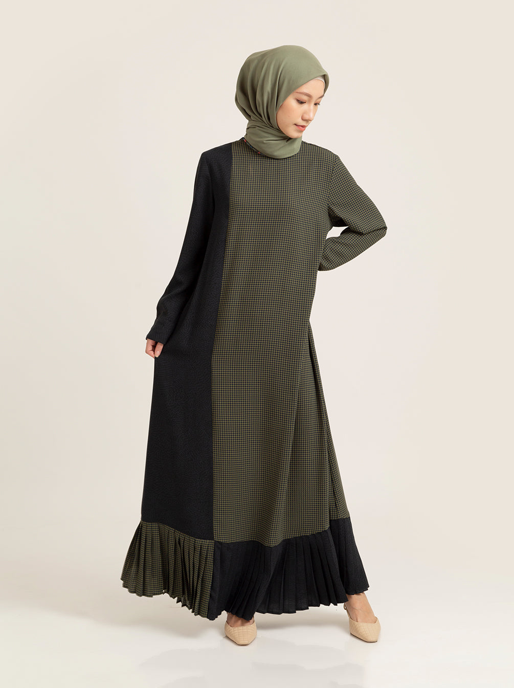 LAINA DRESS LEAF