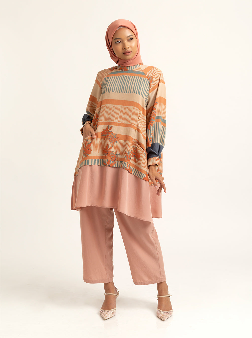 RAEKA TUNIC APRICOT CREAM