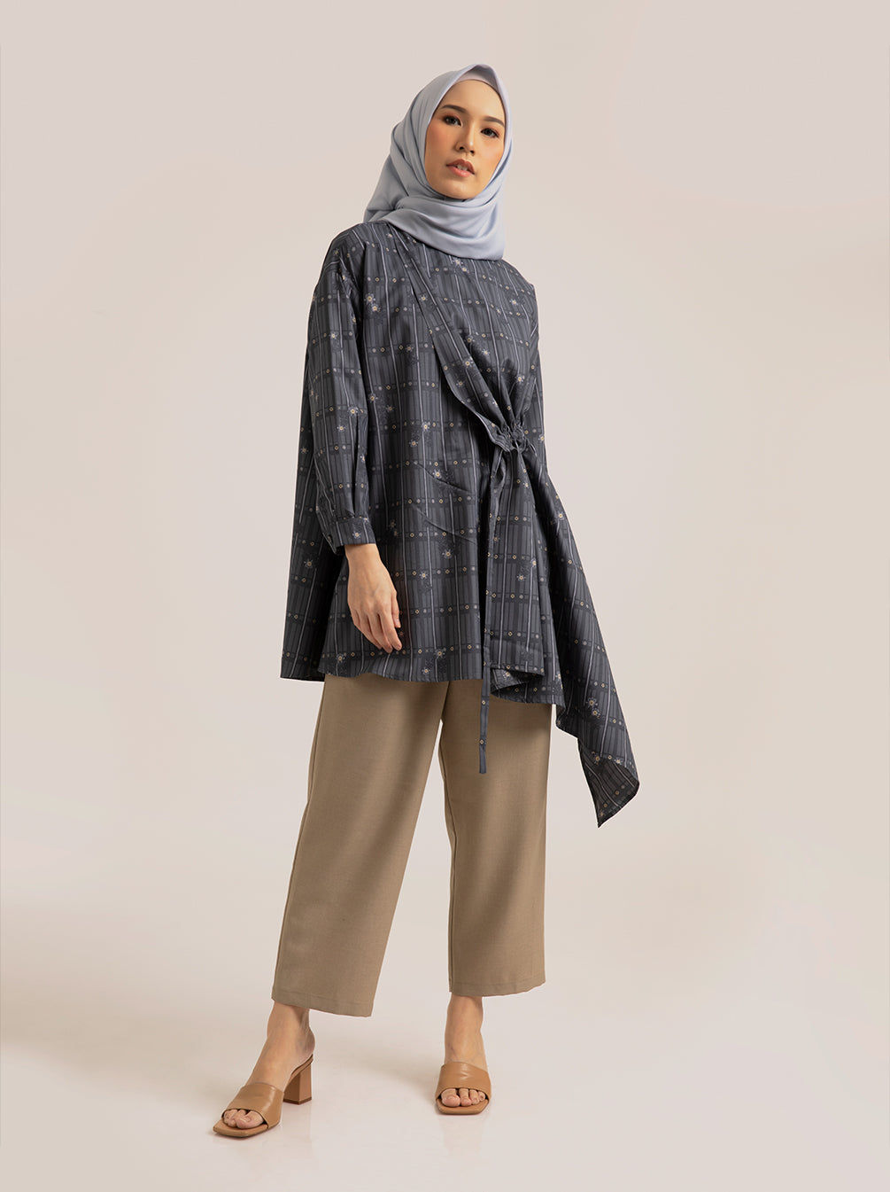 RAEMA BREASTFEEDING TUNIC INDIGO