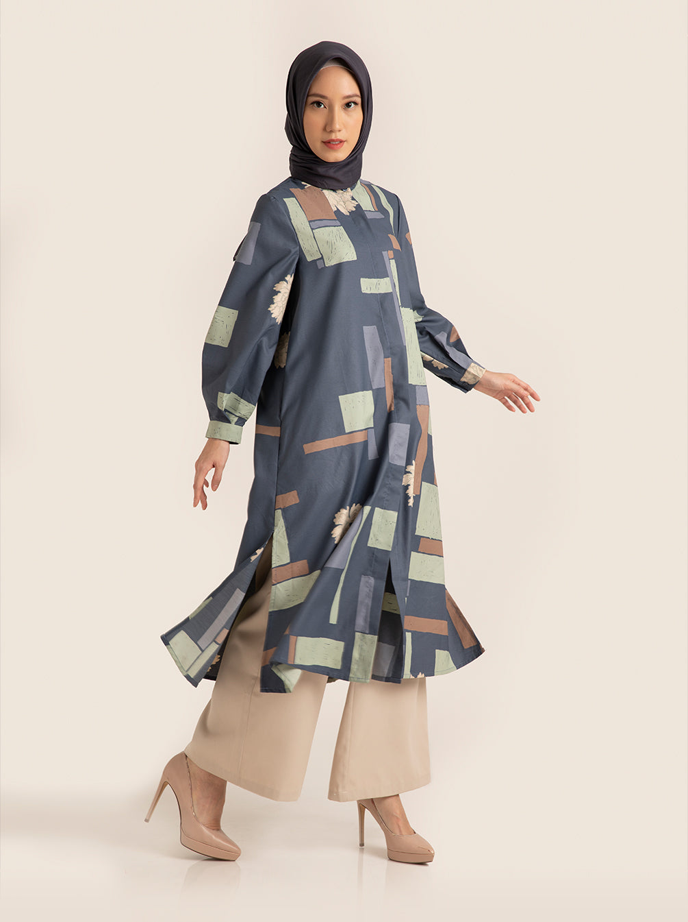 SEFA TUNIC ESTATE BLUE