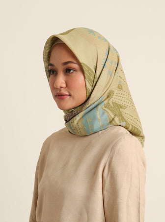 AGAVE SCARF IVORY