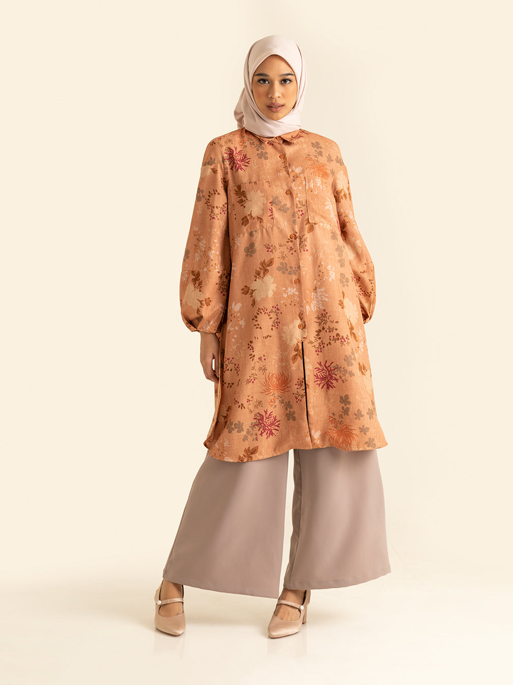 KENNA TUNIC ASH ROSE