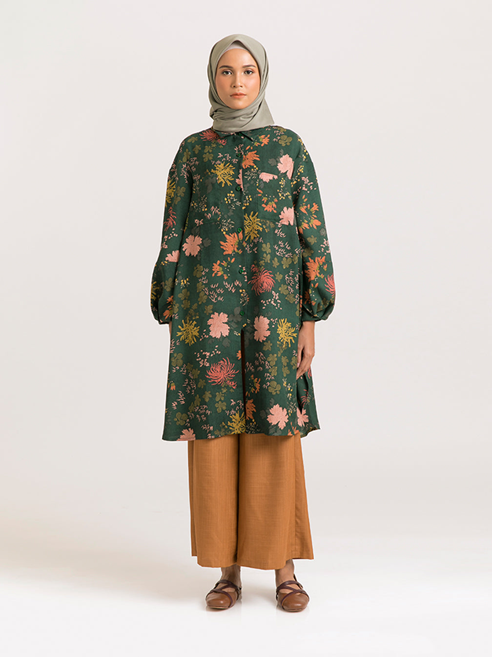 KENNA TUNIC EMERALD