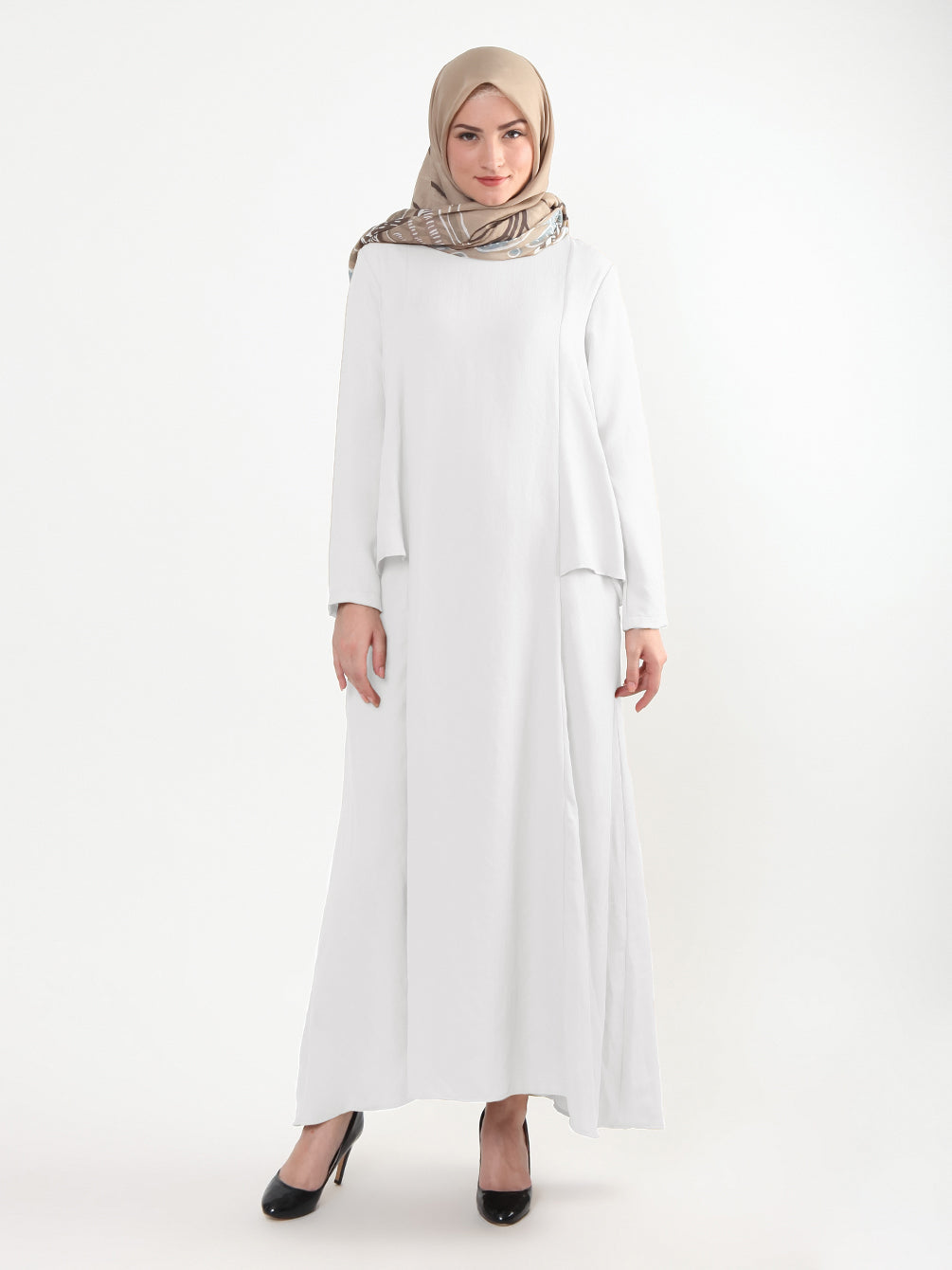 ALEA DRESS OFF WHITE