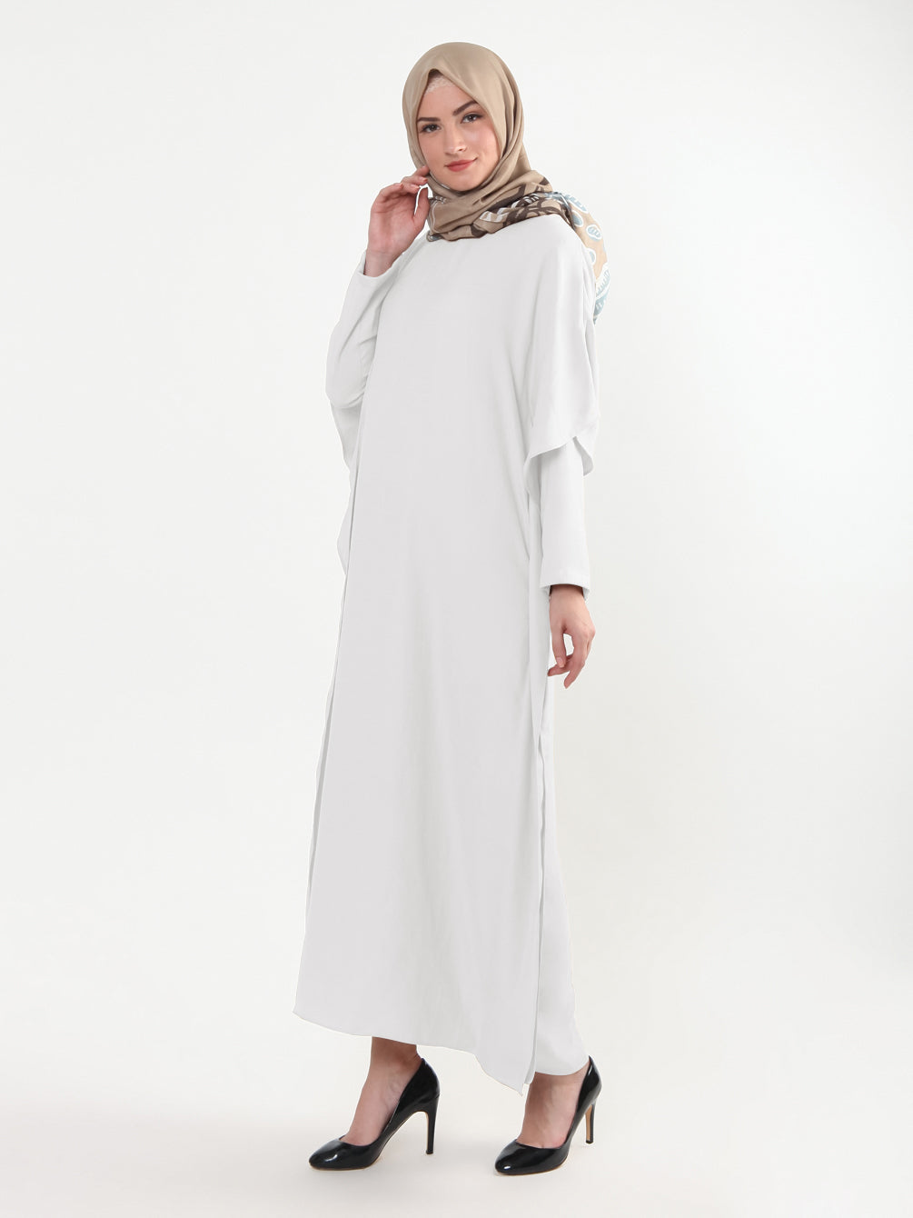AMANDA DRESS OFF WHITE