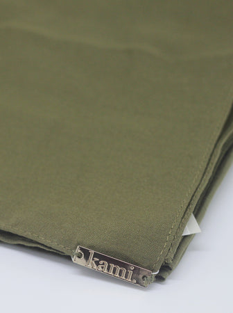 VOAL SCARF PLAIN OLIVE