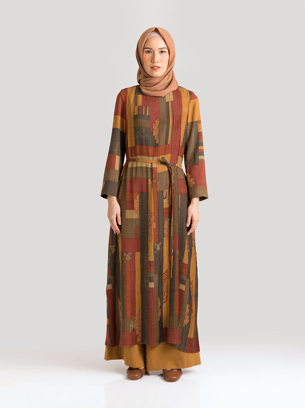 SABEL DRESS ANCIENT COPPER