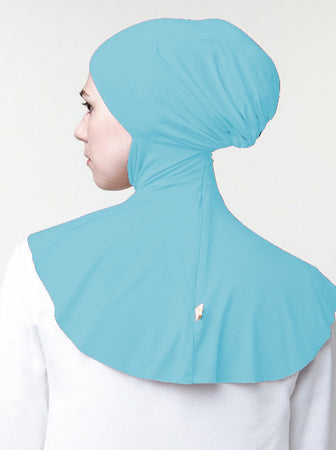 INNER BUN FAUX REGULAR SKY BLUE