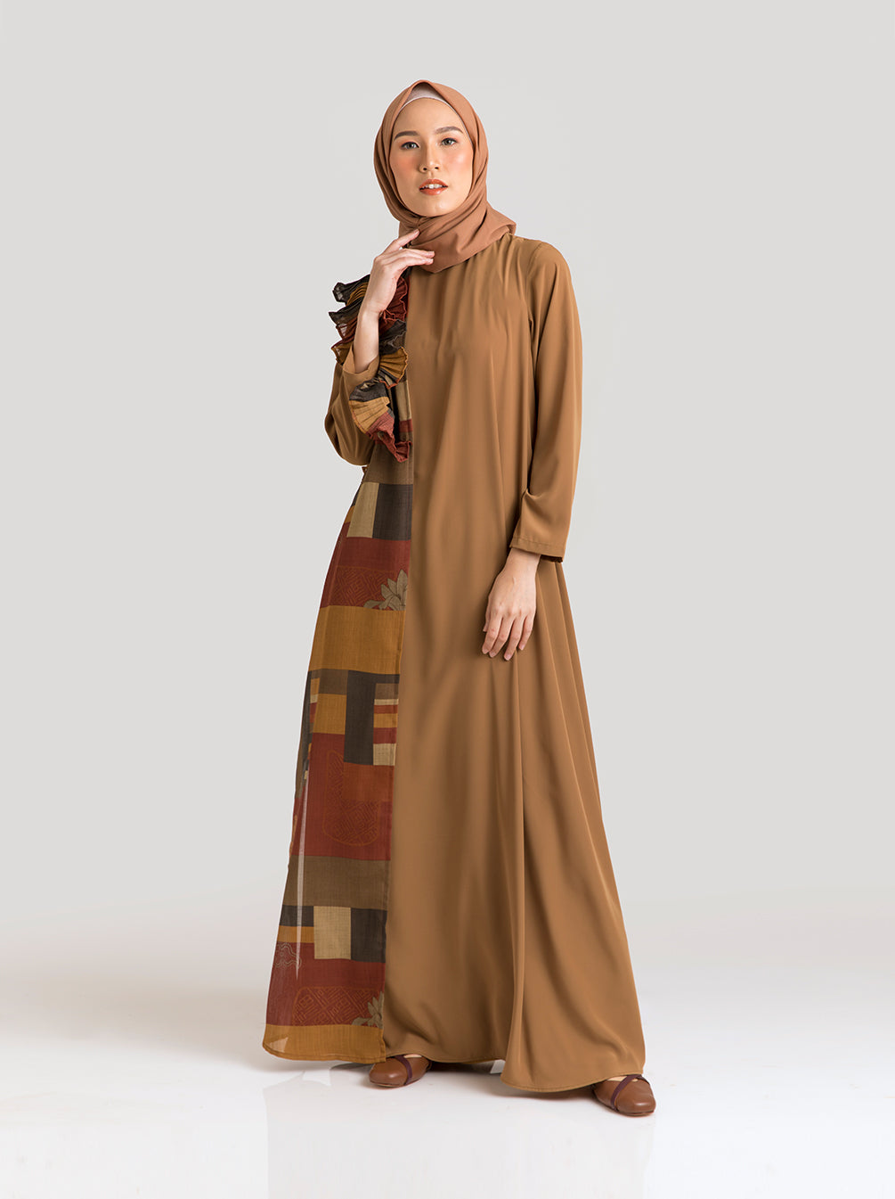 SONAM DRESS ANCIENT COPPER