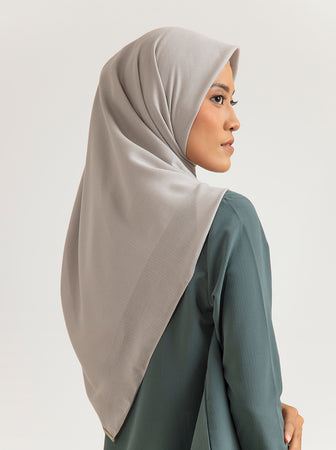TROPIKASA SCARF PLAIN LIGHT STONE