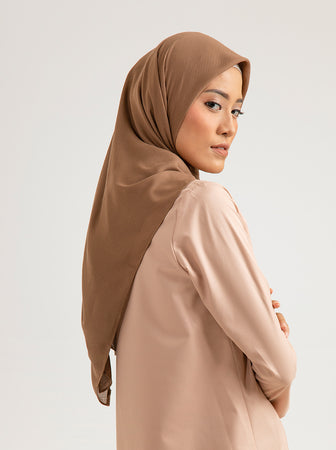 TROPIKASA SCARF PLAIN TOASTED COCONUT