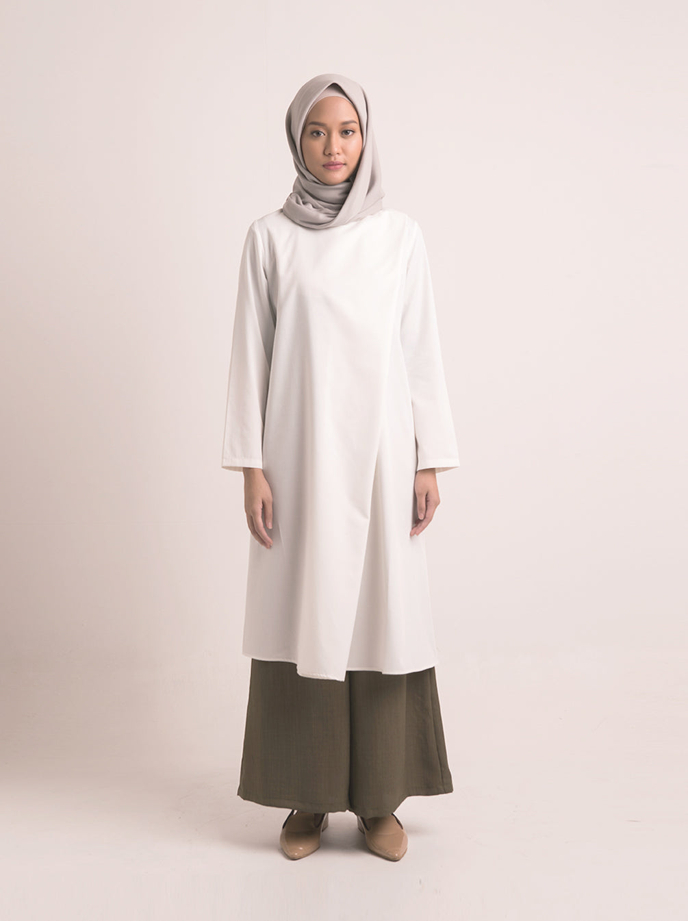 THEMA TUNIC BREASTFEEDING IVORY