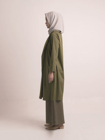 THEMA TUNIC BREASTFEEDING PINE