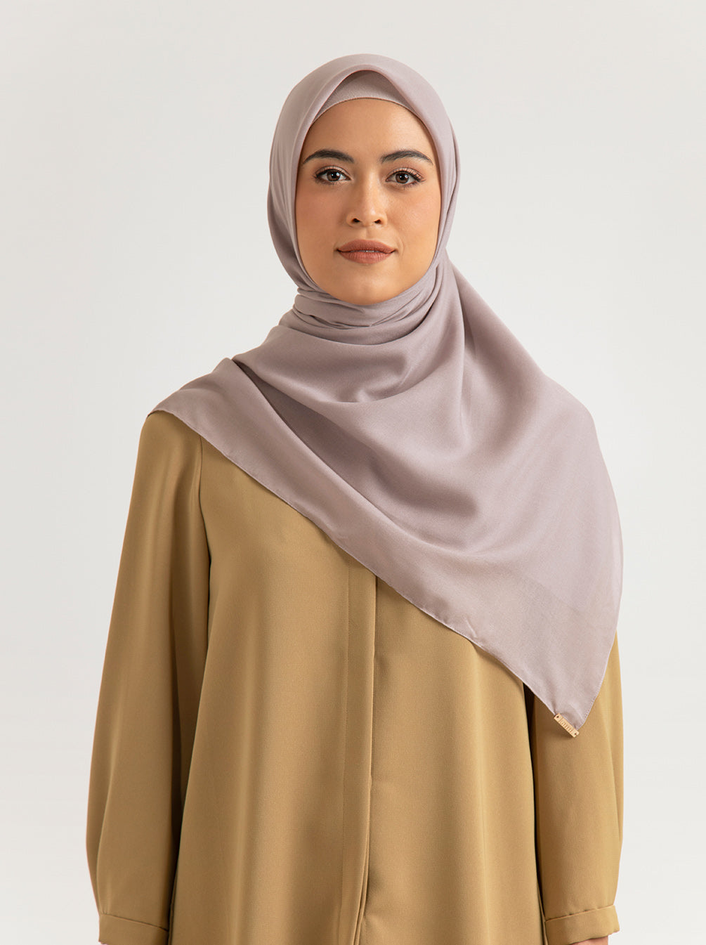 AIRY VOAL SCARF PLAIN FOVER
