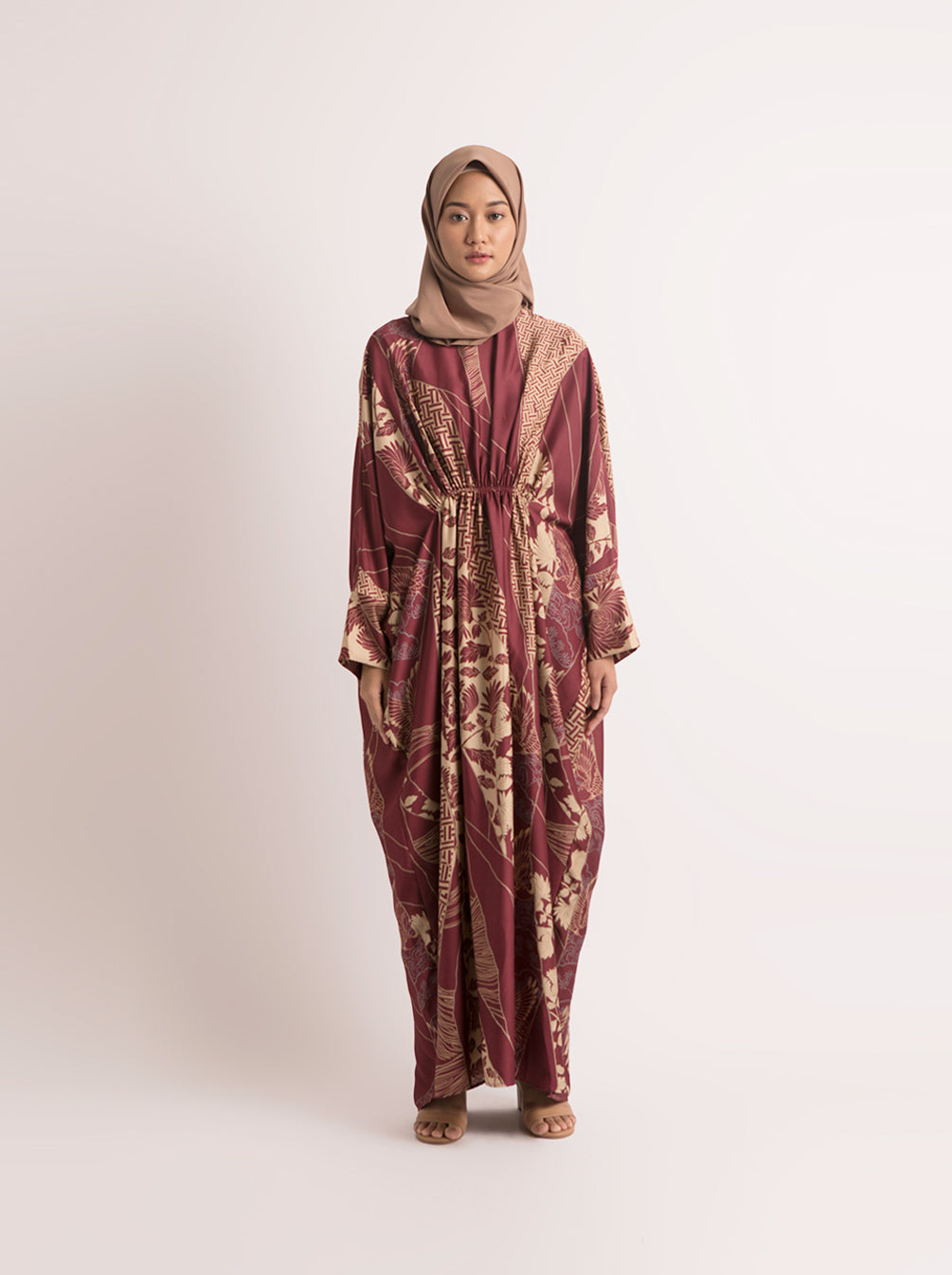 YAFA KAFTAN RUBY RED