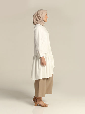 ZEMIRA TUNIC WHITE