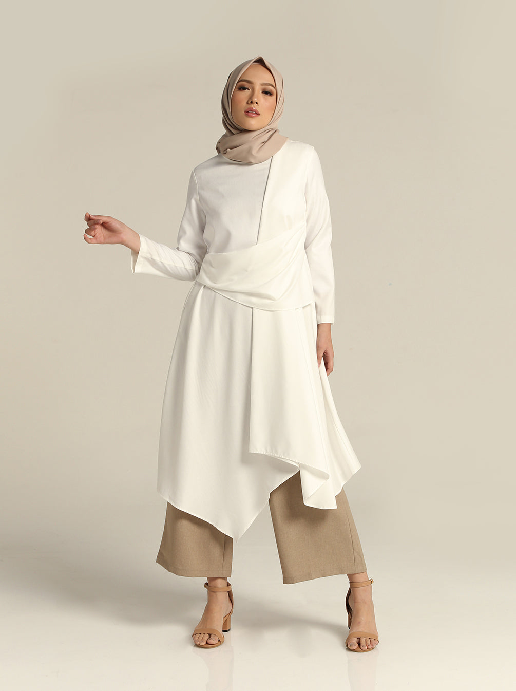 ZIVA TUNIC WHITE