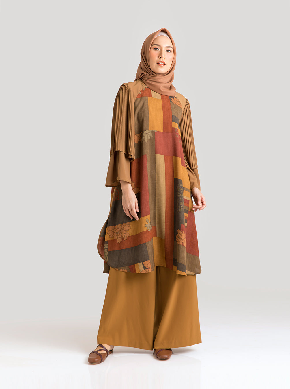 ZORA TUNIC ANCIENT COPPER