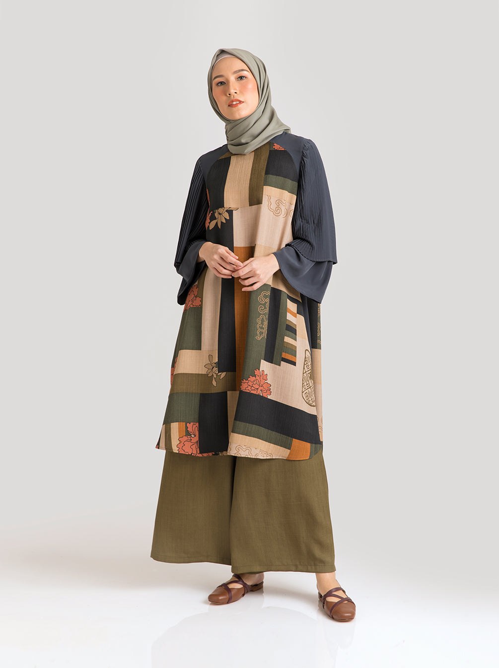 ZORA TUNIC ROYAL MOSS