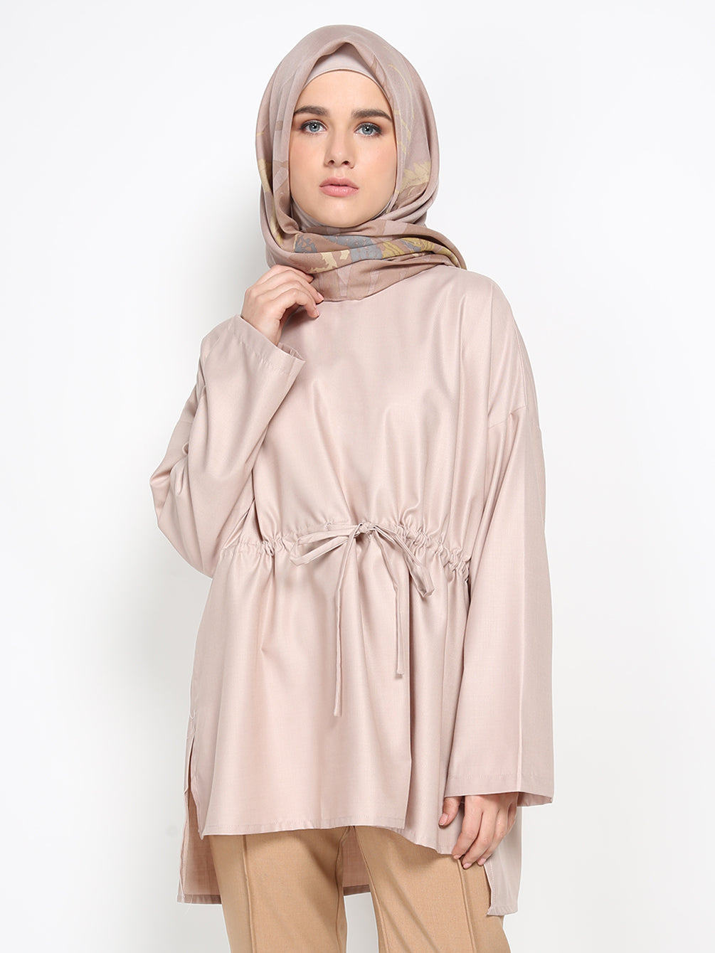 DIMA TOP PLAIN KHAKI